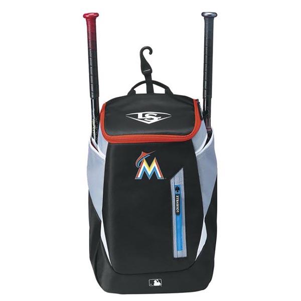 MLB マーリンズ 野球専用 バックパック/リュック ルイスビル スラッガー/Louisville Slugger