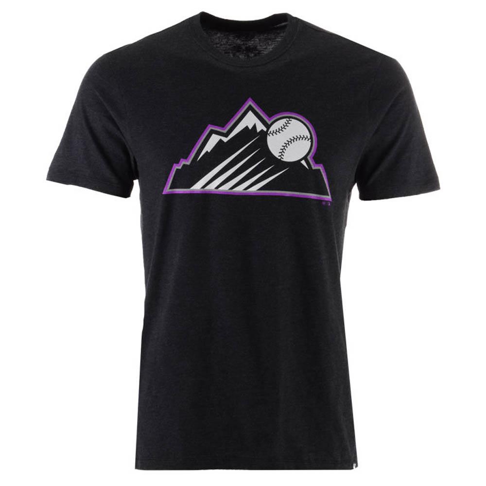 MLB ロッキーズ Tシャツ 半袖 クラブロゴ 47 Brand ブラック【1910価格変更】【1112】