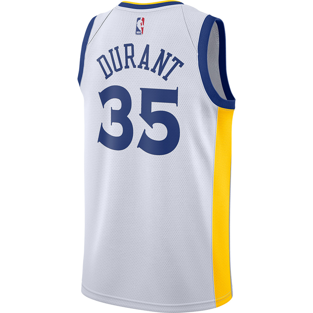 official photos c37e1 73195 NBA Warriors Kevin Durant uniform / jersey swing manno smart /Nike home