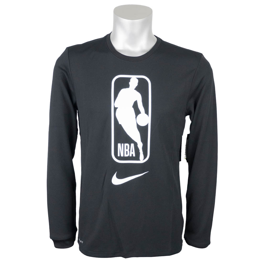 9793ab187046 MLB NBA NFL Goods Shop  NBA long T-shirt logo man long sleeves Nike ...