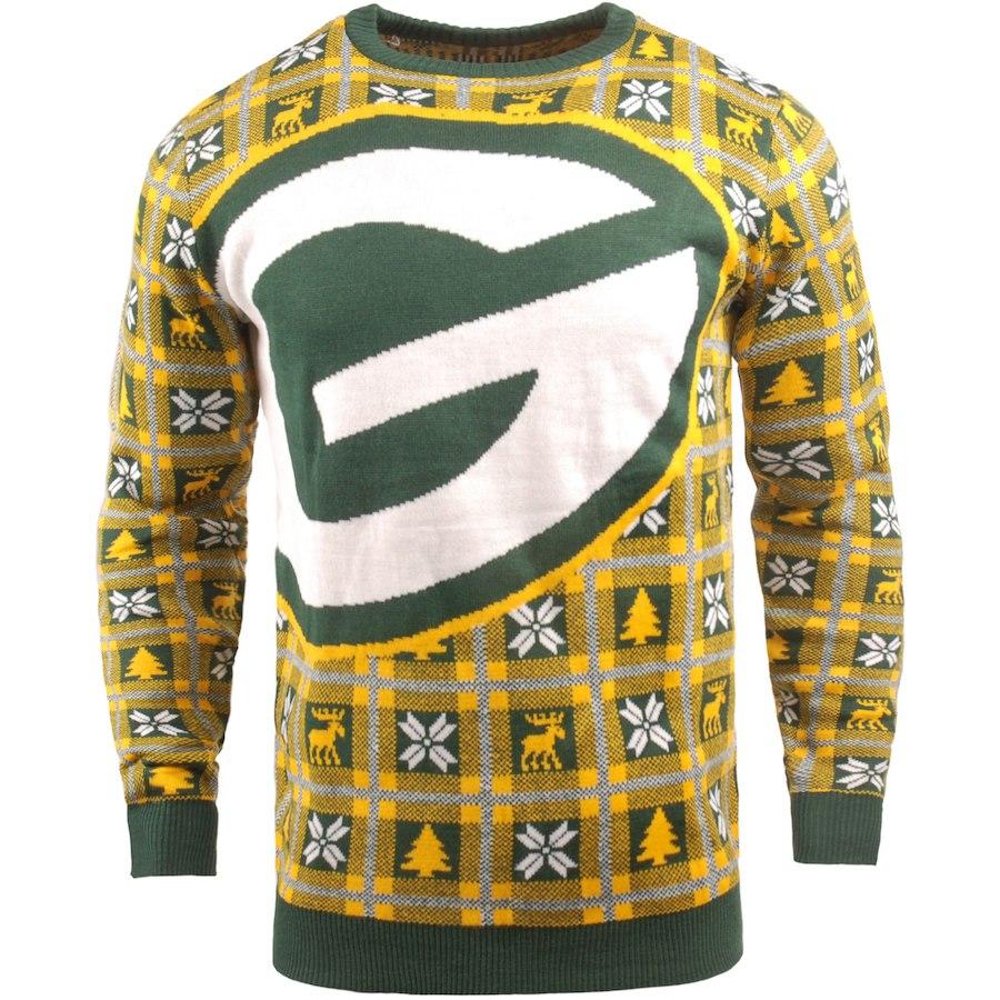 お取り寄せ NFL パッカーズ パーカー/フーディー ビッグ ロゴ プルオーバー セーター ゴールド