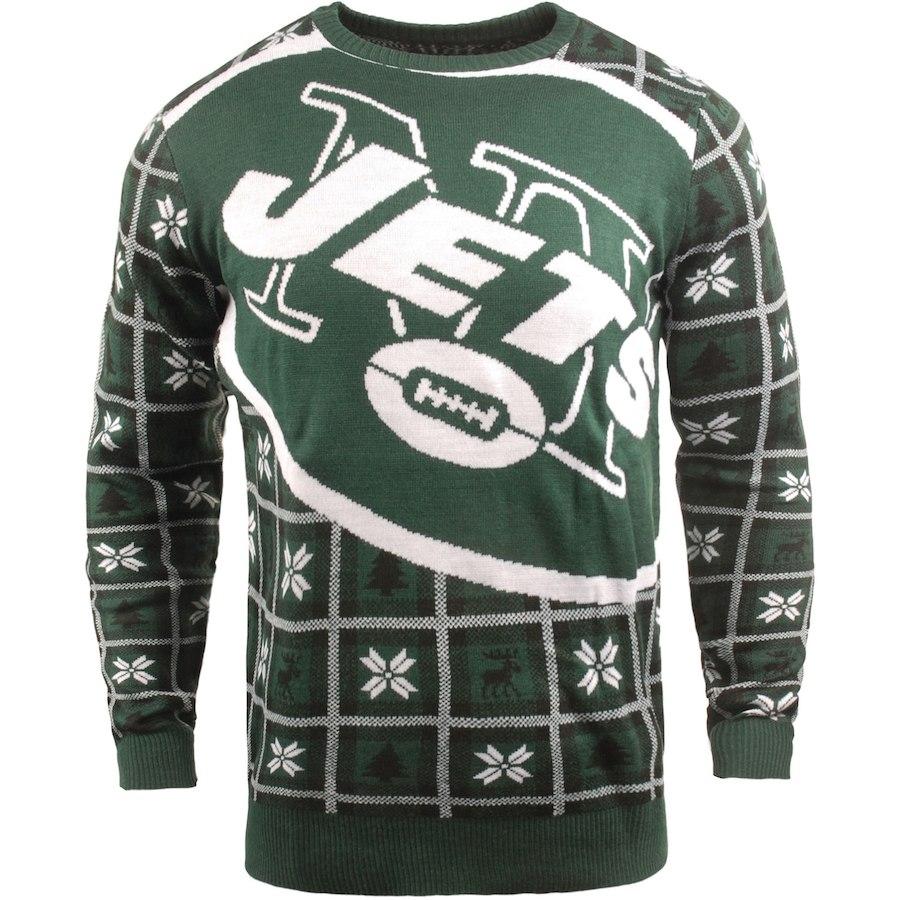 お取り寄せ NFL ジェッツ パーカー/フーディー ビッグ ロゴ プルオーバー セーター グリーン