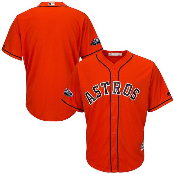 お取り寄せ MLB アストロズ ユニフォーム/ジャージ 2018 プレーオフ進出記念 レプリカ オルタネート