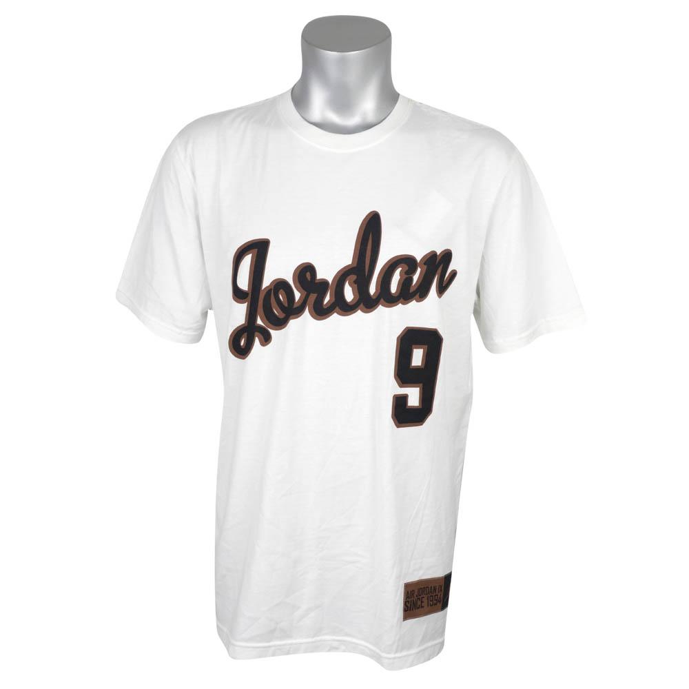 ジョーダン/JORDAN Tシャツ 半袖 Retro 9 T-Shirt ホワイト 508067-100