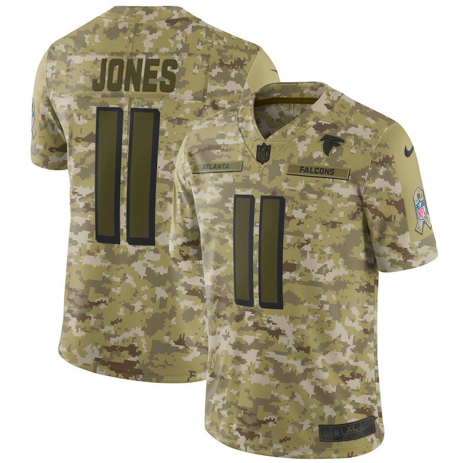 お取り寄せ NFL ファルコンズ フリオ・ジョーンズ ユニフォーム/ジャージ サルート トゥ サービス リミテッド ナイキ/Nike カモ