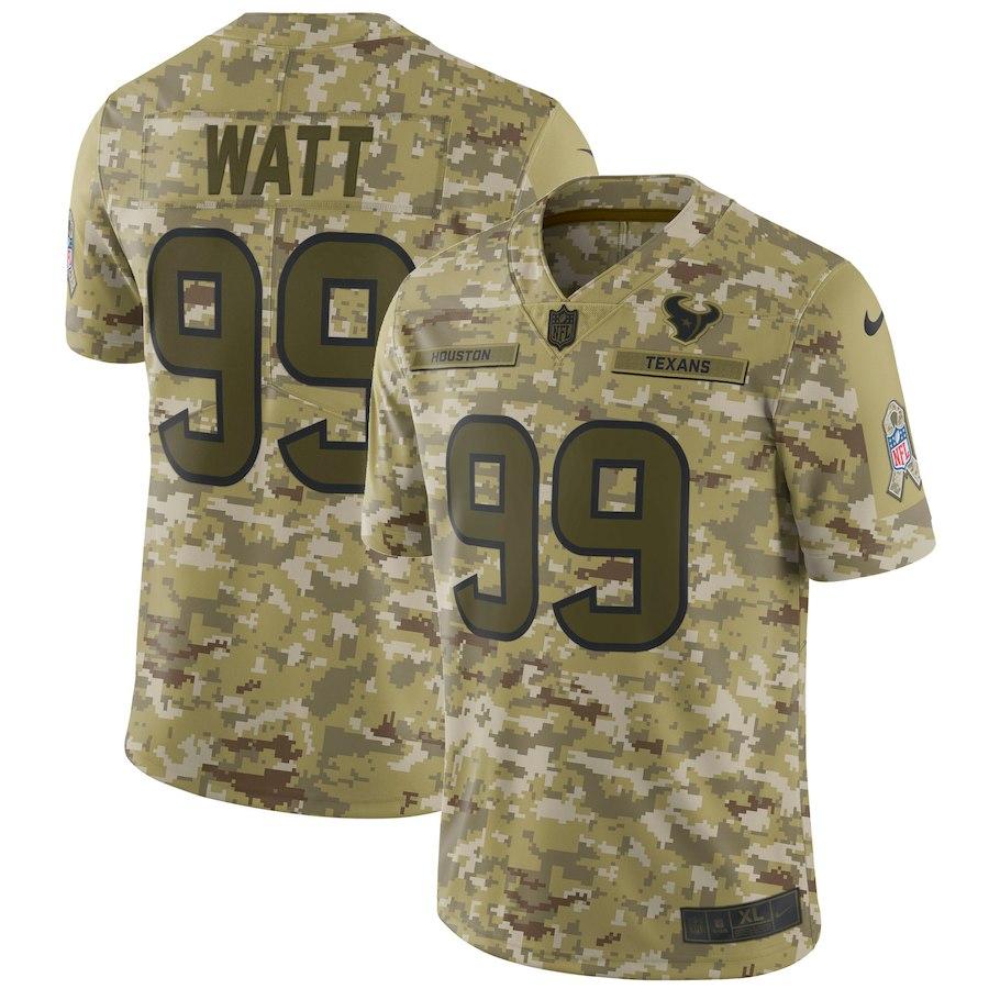 お取り寄せ NFL テキサンズ J.J.・ワット ユニフォーム/ジャージ サルート トゥ サービス リミテッド ナイキ/Nike カモ