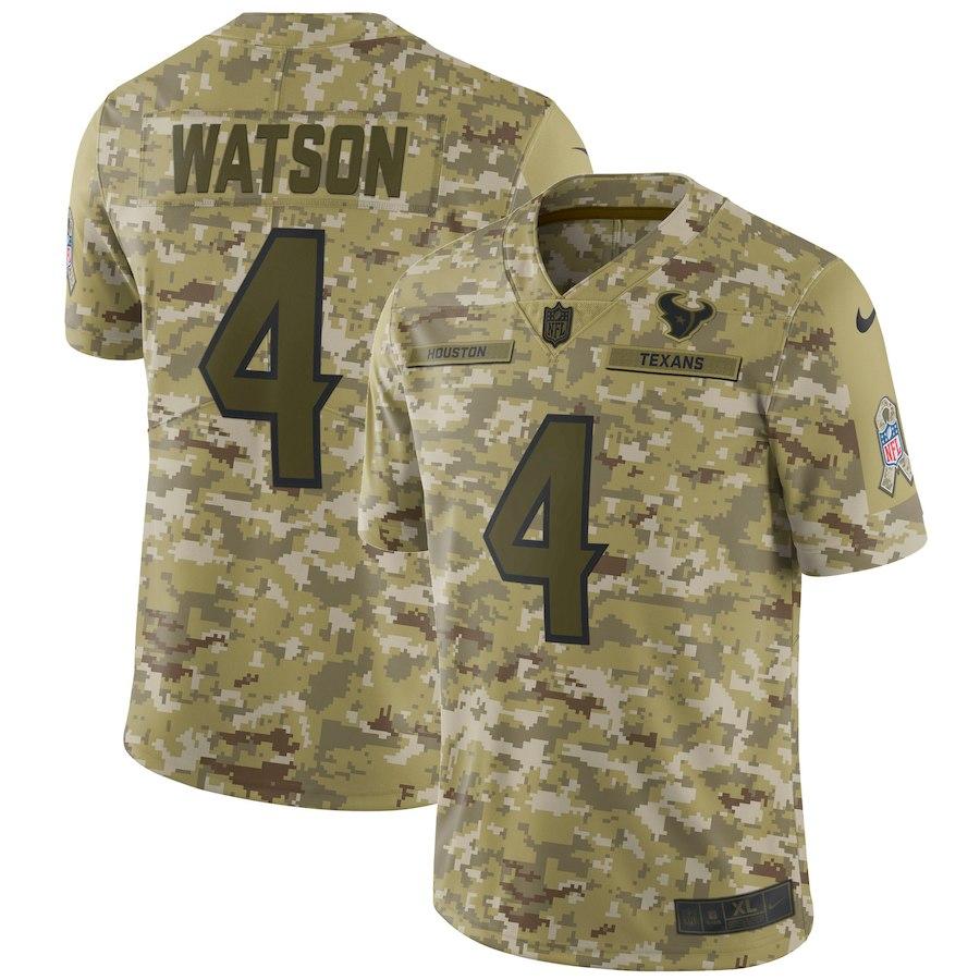 お取り寄せ NFL テキサンズ デショーン・ワトソン ユニフォーム/ジャージ サルート トゥ サービス リミテッド ナイキ/Nike カモ