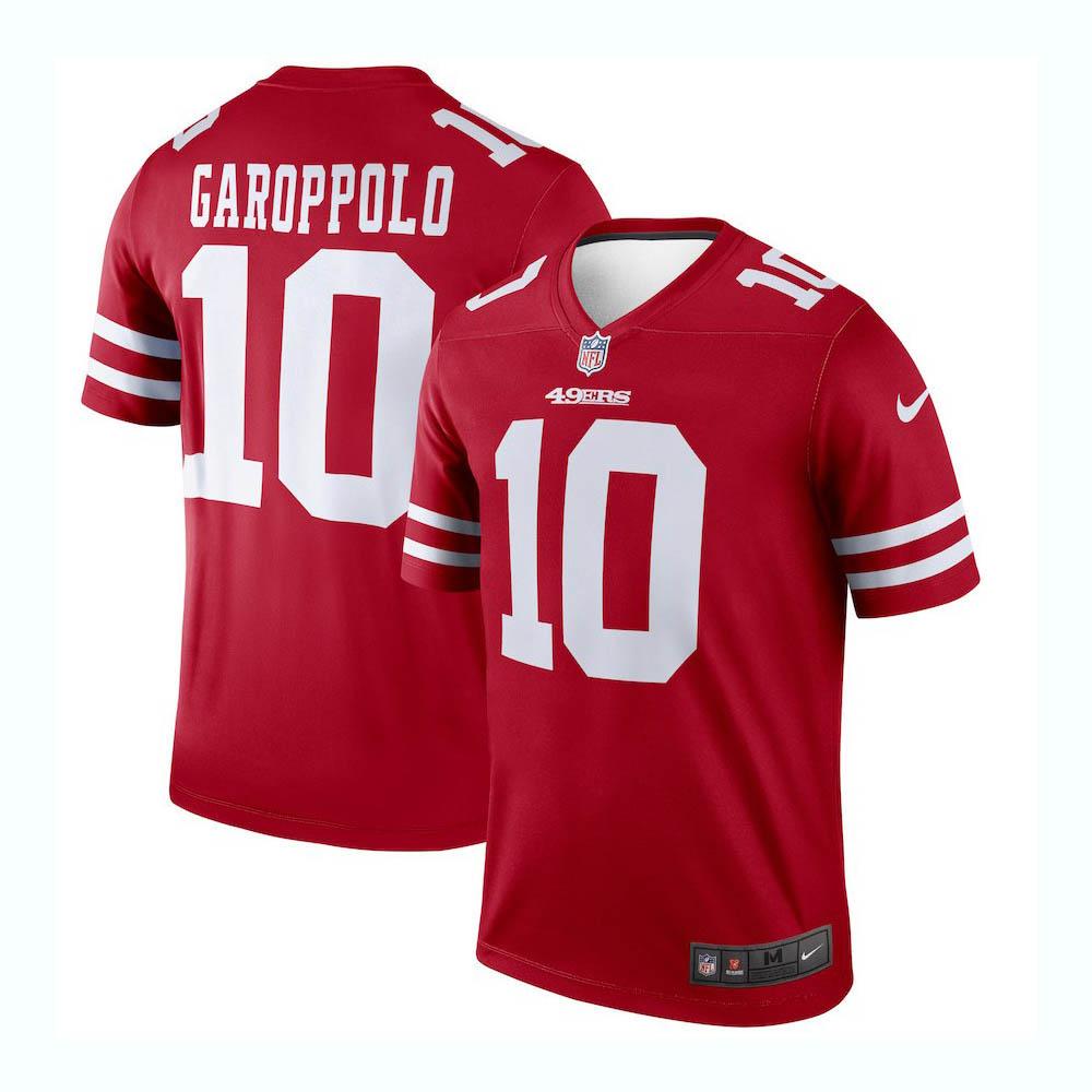NFL 49ers ジミー・ガロポロ ユニフォーム/ジャージ レジェンド ナイキ/Nike レッド 2998516