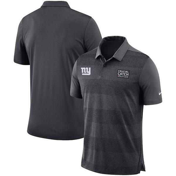 お取り寄せ NFL ジャイアンツ クルーシャル キャッチ ポロシャツ ナイキ/Nike アンスラサイト
