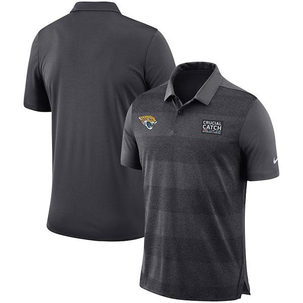 お取り寄せ NFL ジャガーズ クルーシャル キャッチ ポロシャツ ナイキ/Nike アンスラサイト