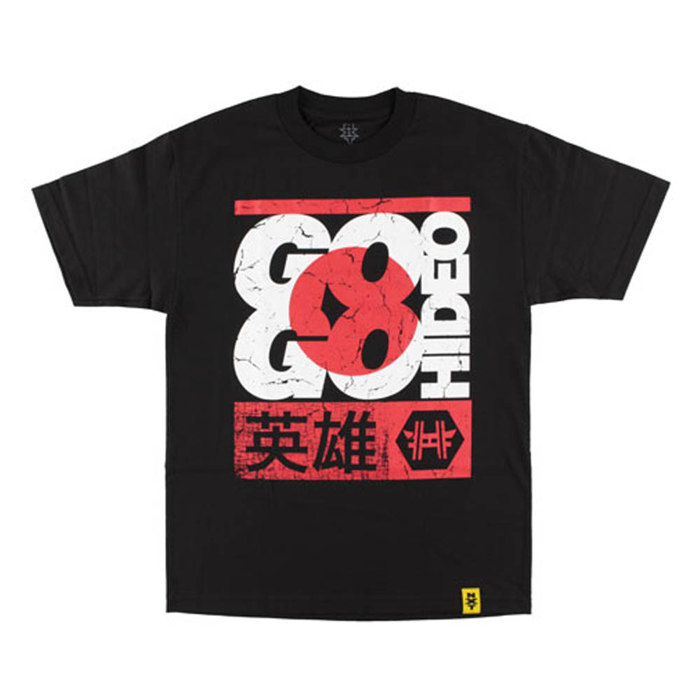 WWE ヒデオ・イタミ Tシャツ Go Go Hideo ブラック【1910価格変更】