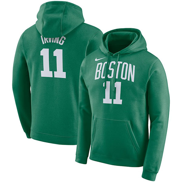 NBA セルティックス カイリー・アービング パーカー/フーディー ネーム&ナンバー エッセンシャル ナイキ/Nike グリーン