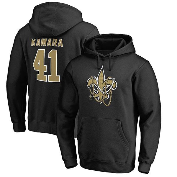 お取り寄せ NFL セインツ アルバン・カマーラ パーカー/フーディー チームアイコン プロライン/Pro Line ブラック