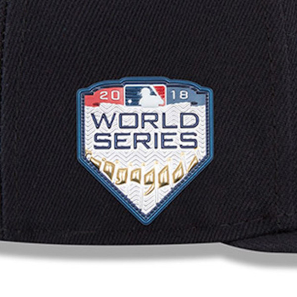 b197859a22dd7b ... Reservation MLB Red Sox cap / hat 2018 World Series advance memory side  patch 59FIFTY home