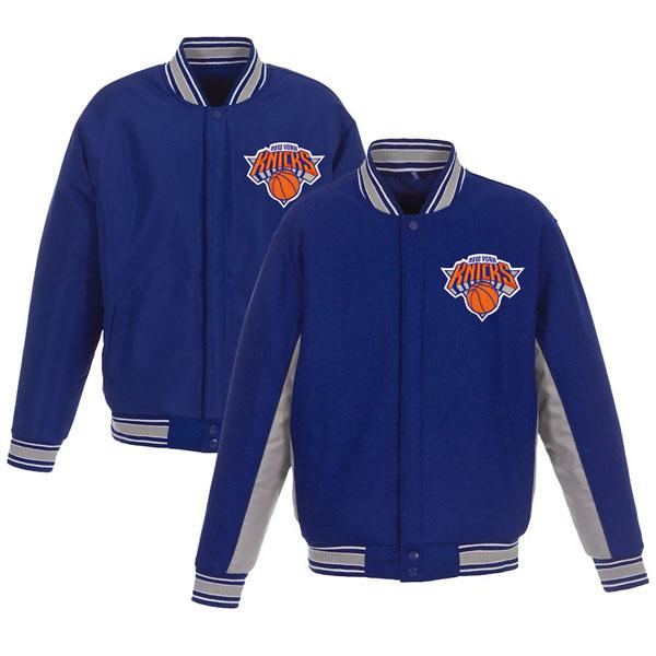 お取り寄せ NBA ニックス ジャケット/アウター リバーシブル ウール ポリツイル メンズ JHデザイン/JH Design