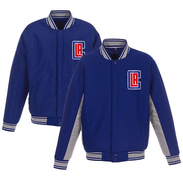 お取り寄せ NBA クリッパーズ ジャケット/アウター リバーシブル ウール ポリツイル メンズ JHデザイン/JH Design