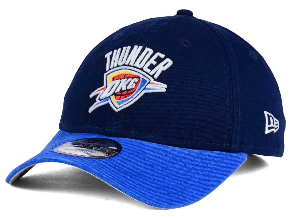 NBA サンダー キャップ/帽子 2トーン ニューエラ/New Era ネイビー/ブルー(プライマリーロゴ)【1911セール】