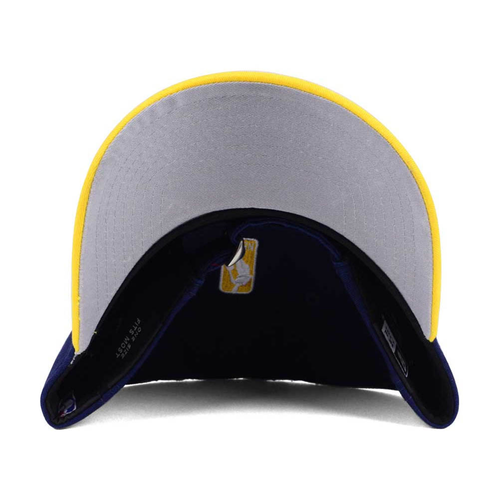 NBA Pacers cap   hat 2 tone new gills  New Era navy   yellow (alternate logo ) 40515bce9