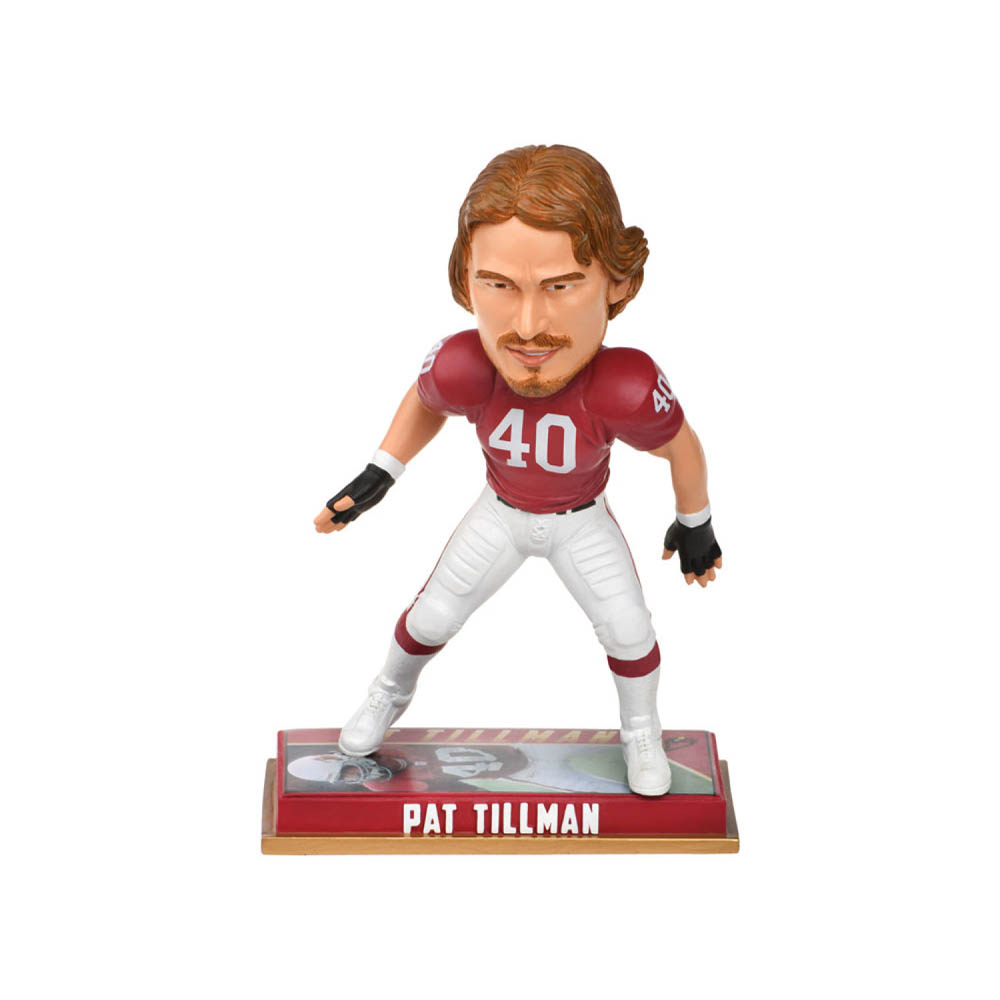NFL カーディナルス パット・ティルマン フィギュア ボブルヘッド 引退プレーヤー Forever