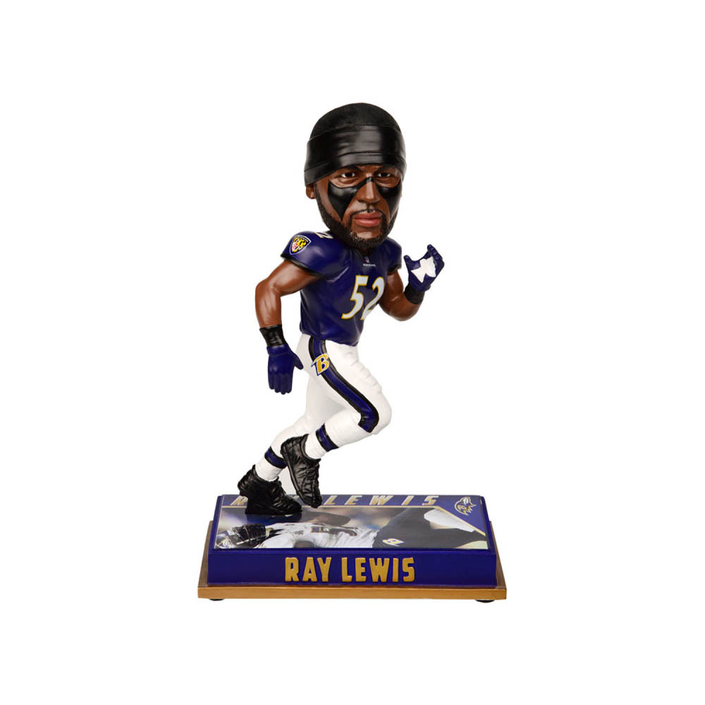 NFL レイブンズ レイ・ルイス フィギュア ボブルヘッド 引退プレーヤー Forever