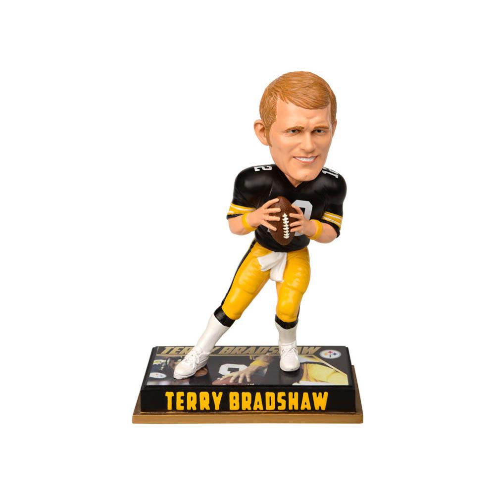 NFL スティーラーズ テリー・ブラッドショー フィギュア ボブルヘッド 引退プレーヤー Forever