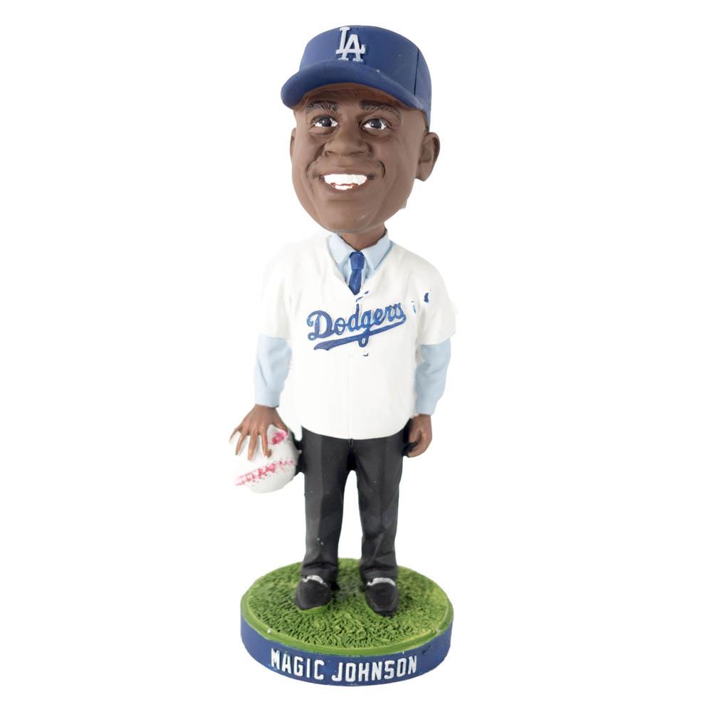 MLB ドジャース マジック・ジョンソン フィギュア ボブルヘッド SGA
