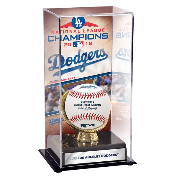 お取り寄せ MLB ドジャース 2018 ナ・リーグ優勝記念 ディスプレイケース