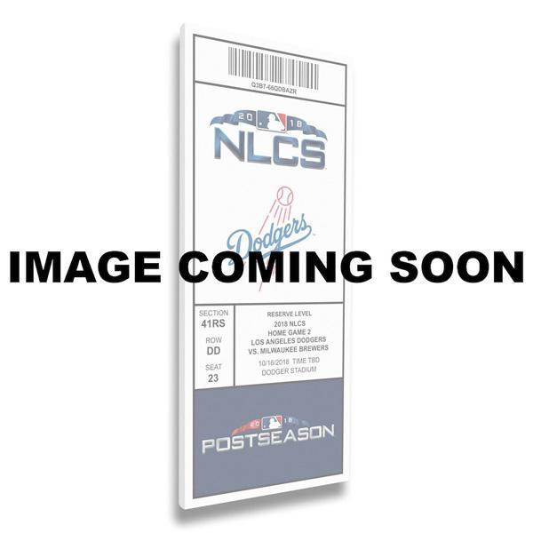 お取り寄せ MLB ドジャース 2018 ワールドシリーズ進出記念 キャンバス メガチケット