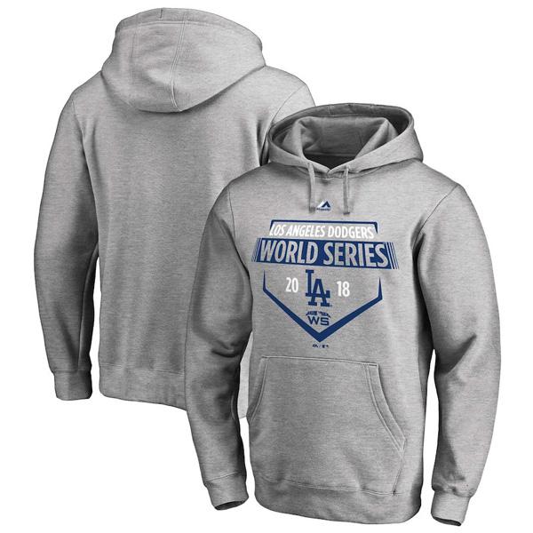 お取り寄せ MLB ドジャース パーカー/フーディー 2018 ワールドシリーズ進出記念 ストリーマー マジェスティック/Majestic