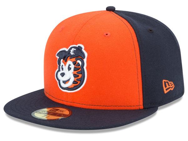 お取り寄せ お取り寄せ お取り寄せ MiLB/マイナーリーグ コネチカット・タイガース キャップ/帽子 オーセンティック 59FIFTY ニューエラ/New Era