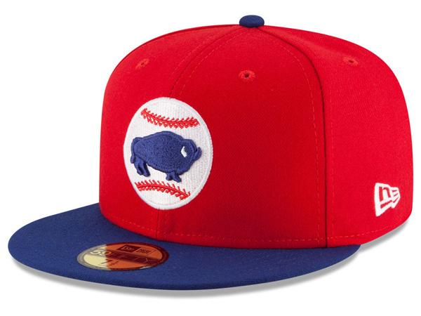 お取り寄せ お取り寄せ MiLB/マイナーリーグ バッファロー・バイソンズ キャップ/帽子 オーセンティック 59FIFTY ニューエラ/New Era