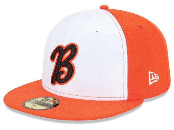 お取り寄せ MiLB/マイナーリーグ ベーカーズフィールド・ブレイズ キャップ/帽子 オーセンティック 59FIFTY ニューエラ/New Era