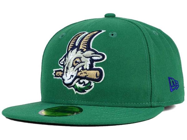 お取り寄せ MiLB/マイナーリーグ ハートフォード・ヤードゴーツ キャップ/帽子 オーセンティック 59FIFTY ニューエラ/New Era