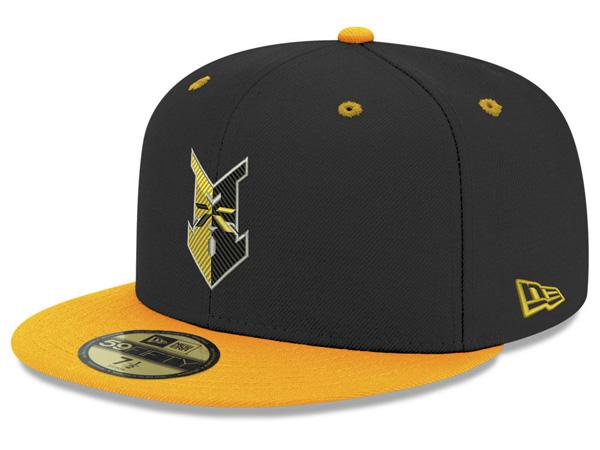 お取り寄せ MiLB/マイナーリーグ インディアナポリス・インディアンズ キャップ/帽子 オーセンティック 59FIFTY ニューエラ/New Era