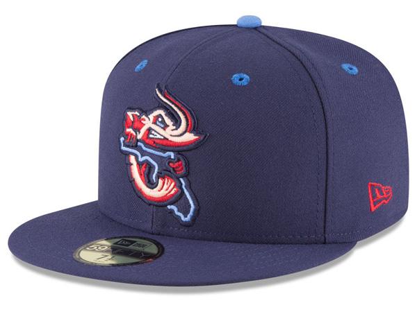 お取り寄せ MiLB/マイナーリーグ ジャクソンビル・ジャンボシュリンプ キャップ/帽子 オーセンティック 59FIFTY ニューエラ/New Era
