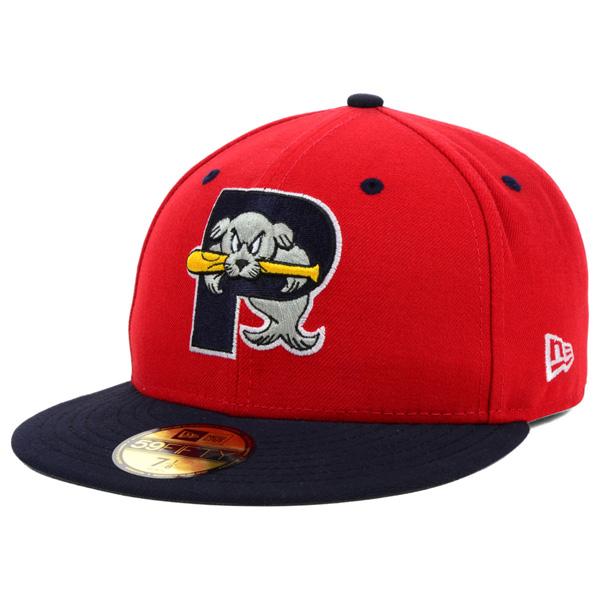 お取り寄せ MiLB/マイナーリーグ ポートランド・シードッグス キャップ/帽子 オーセンティック 59FIFTY ニューエラ/New Era