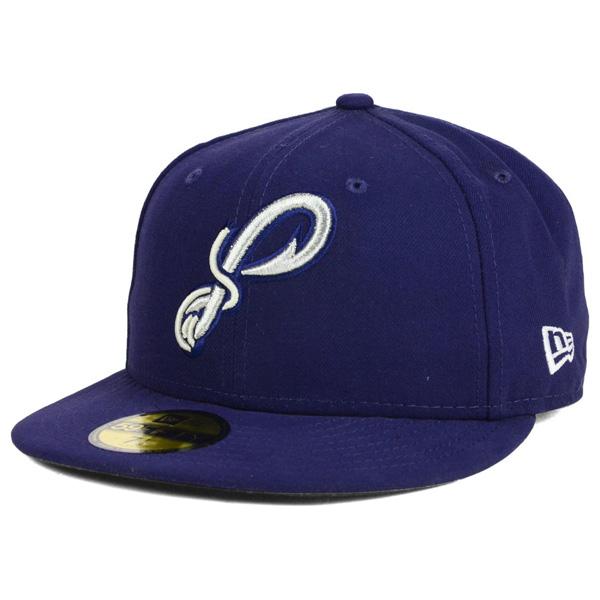 お取り寄せ お取り寄せ お取り寄せ MiLB/マイナーリーグ ペンサコーラ・ブルーワフーズ キャップ/帽子 オーセンティック 59FIFTY ニューエラ/New Era