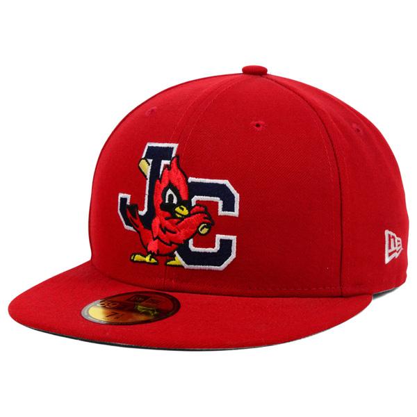 お取り寄せ MiLB/マイナーリーグ ジョンソンシティ・カージナルス キャップ/帽子 オーセンティック 59FIFTY ニューエラ/New Era