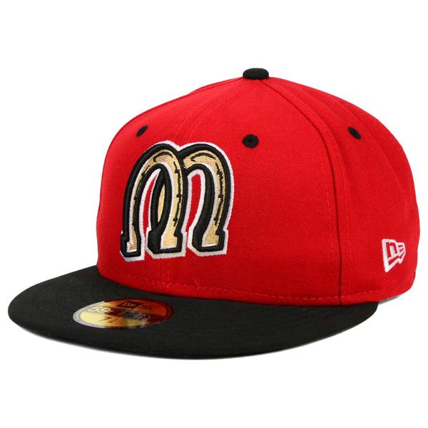 お取り寄せ MiLB/マイナーリーグ ビリングス・マスタングス キャップ/帽子 オーセンティック 59FIFTY ニューエラ/New Era