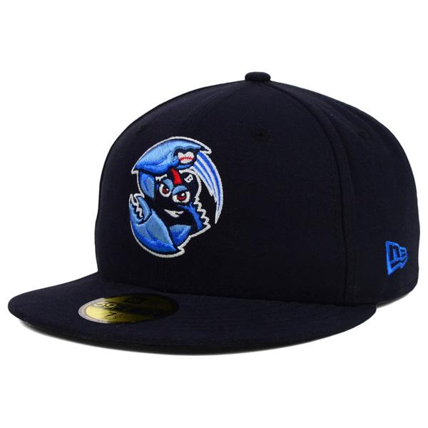 お取り寄せ お取り寄せ お取り寄せ MiLB/マイナーリーグ レイクウッド・ブルークロウズ キャップ/帽子 オーセンティック 59FIFTY ニューエラ/New Era