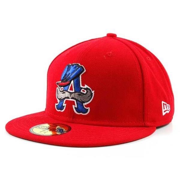 お取り寄せ お取り寄せ お取り寄せ MiLB/マイナーリーグ オーバーン・ダブルデイズ キャップ/帽子 オーセンティック 59FIFTY ニューエラ/New Era