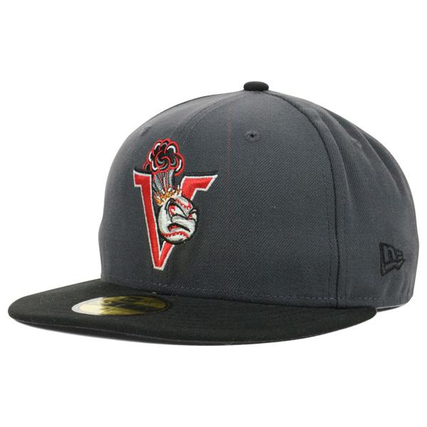 お取り寄せ お取り寄せ お取り寄せ MiLB/マイナーリーグ セーラムカイザー・ボルケイノーズ キャップ/帽子 オーセンティック 59FIFTY ニューエラ/New Era