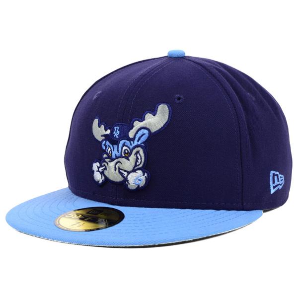 お取り寄せ MiLB/マイナーリーグ ウィルミントン・ブルーロックス キャップ/帽子 オーセンティック 59FIFTY ニューエラ/New Era