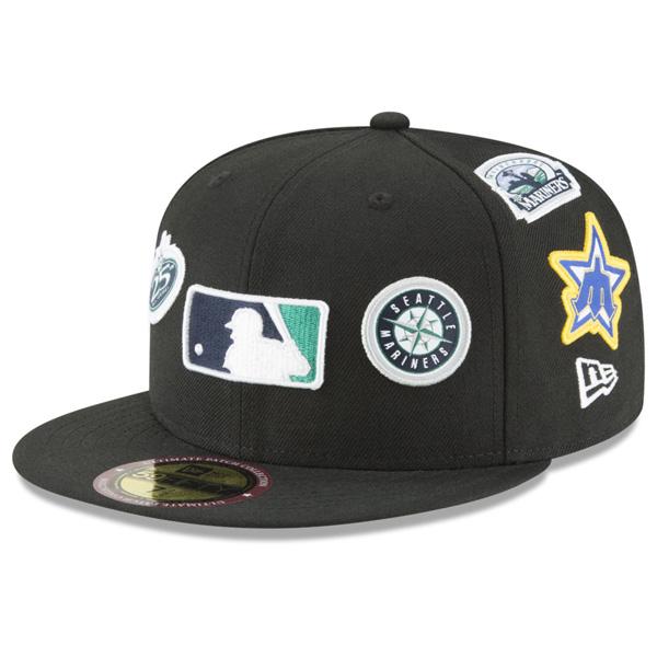 お取り寄せ MLB マリナーズ キャップ/帽子 パッチコレクション アルティメット ニューエラ/New Era