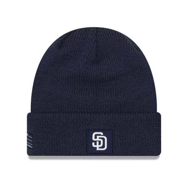 パドレス キャップ ニューエラ NEW ERA MLB ニットキャップ ニット帽 選手着用モデル 2018 【1910価格変更】【191028変更】