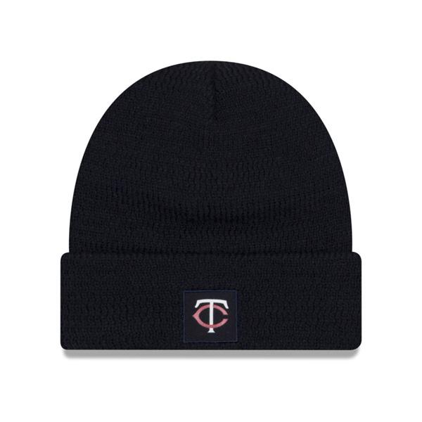 ツインズ キャップ ニューエラ NEW ERA MLB ニットキャップ ニット帽 選手着用モデル 2018 ネイビー【1910価格変更】【191028変更】
