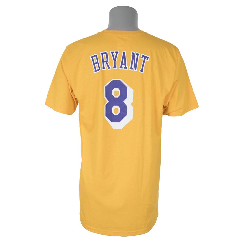 9e188feb933 MLB NBA NFL Goods Shop  NBA Lakers Kobe Bryant T-shirt net number ...