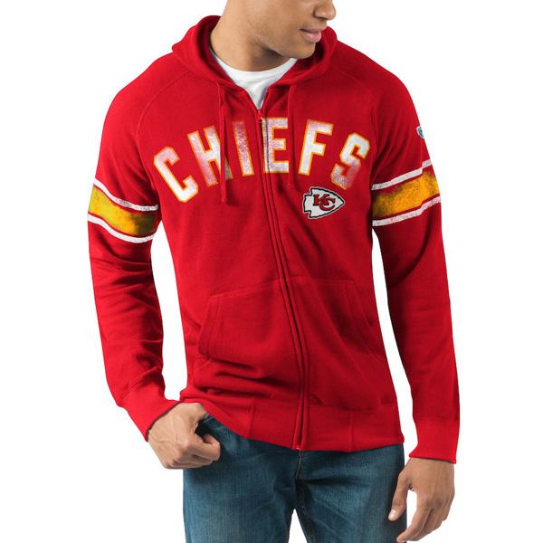 安いそれに目立つ お取り寄せ NFL レッド メンズ チーフス パーカー/フーディー フルジップ ハンズハイ NFL メンズ レッド, 甘木市:106120b2 --- hortafacil.dominiotemporario.com