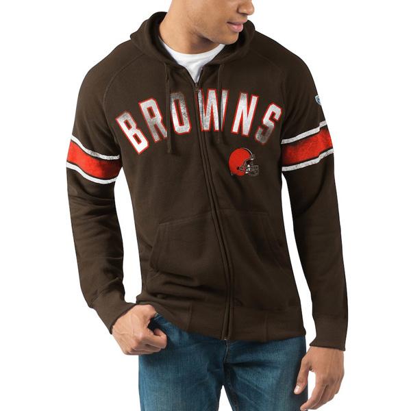 【公式ショップ】 お取り寄せ お取り寄せ NFL メンズ ブラウンズ パーカー/フーディー フルジップ ハンズハイ ブラウンズ メンズ ブラウン, 宮之城町:902639fe --- supercanaltv.zonalivresh.dominiotemporario.com