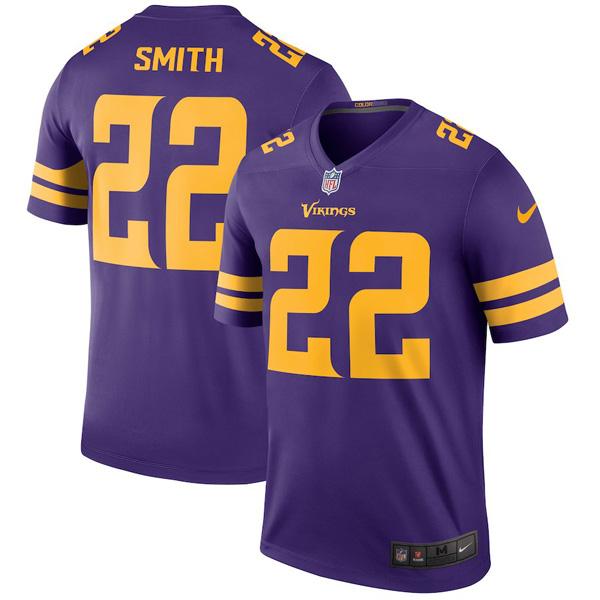 お取り寄せ NFL バイキングス ハリソン・スミス ユニフォーム/ジャージ カラーラッシュ レジェンド ナイキ/Nike パープル